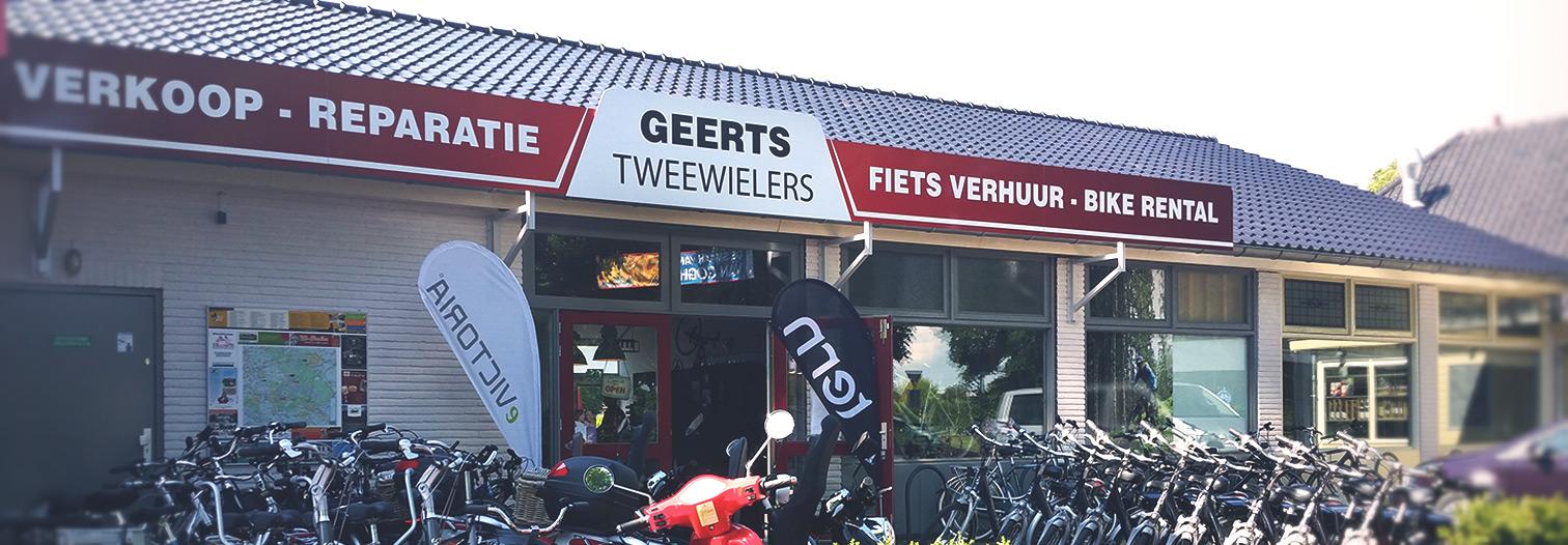 Fietsverhuur bij Geerts Tweewielers